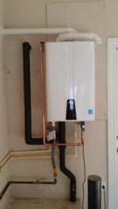 hot water heater installation