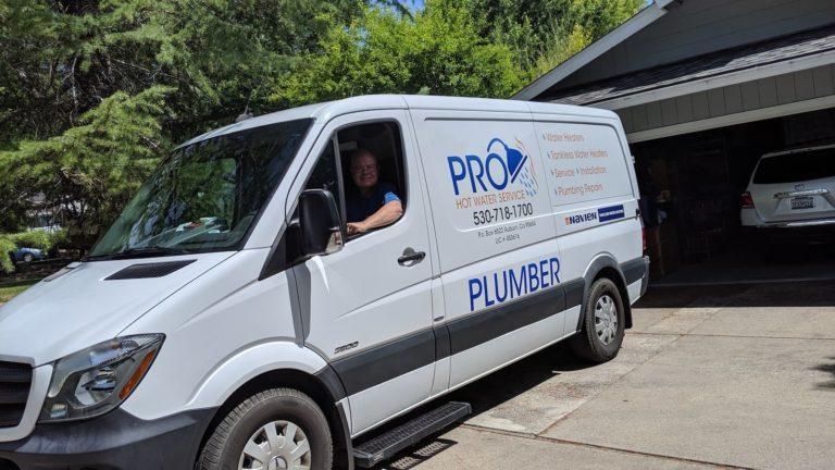 mark owner of pro hot water service in van